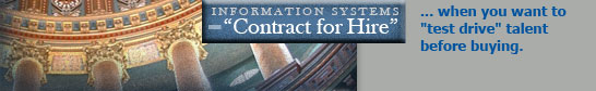 Capitol Strategies :: Springfield, Illinois :: Information Systems Contract for Hire